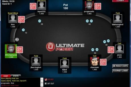 На Ultimate Poker прошли первые легальные МТТ в США.