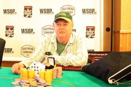 Крис Реслок выиграл 7 кольцо WSOP Circuit, тем самым...