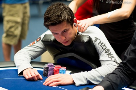 Season 9 EPT Grand Final Main Event Day 2: Team PokerStars Pro Johnny Lodden On Top
