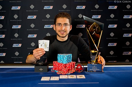 Steven Silverman Wins the Season 9 EPT Grand Final €25,000 High Roller