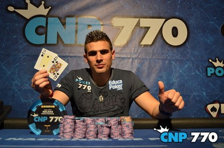 Gran Final del CNP770 de Málaga, David Merino ganador de 15.245€