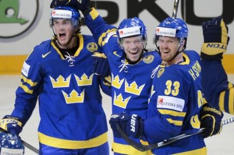 Tre Kronor slår Finland med 3-0, nu väntar VM-final