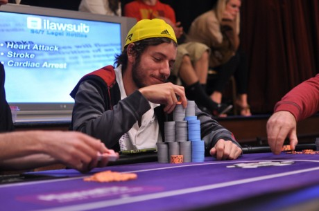 2012-13 WSOP Circuit Harrah's New Orleans Main Event Day 2: Weinman Leads the Final 11