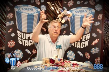 888poker Super Stack Tallinna etapi võitis Jukka Juvonen