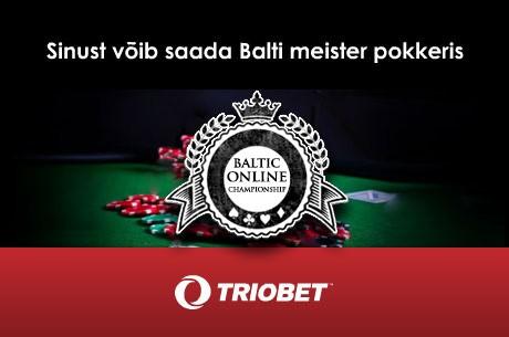 Täna algavad Triobetis Balti meistrivõistlused online-pokkeris