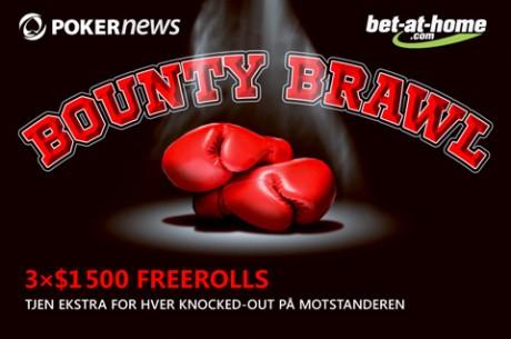 Vinn penger før pengeplasseringen ved Bounty Brawls Freerolls