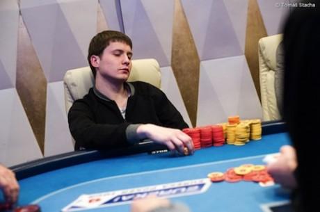 1A diena Eureka Poker Tour; Tarp lyderių - lietuvis