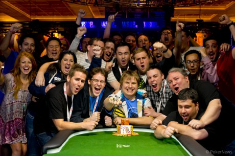 PokerNews Editor Chad Holloway Wins 2013 WSOP Bracelet in Event #1!