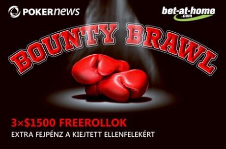 Bet-at-home.com fejvadászat, ne hagyd ki a harmadik $1.500-os Bounty Brawl freerollt!