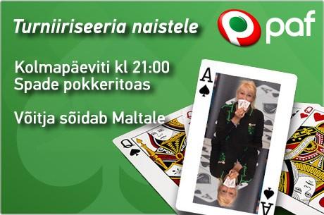 Suvel toimub Pafis naisteliiga, võitjale Grand Live Malta $3000 pakett