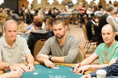 "Dario Minieri, Steve O'Dwyer and David ""Doc"" Sands Discuss WSOP Shootout Strategy"