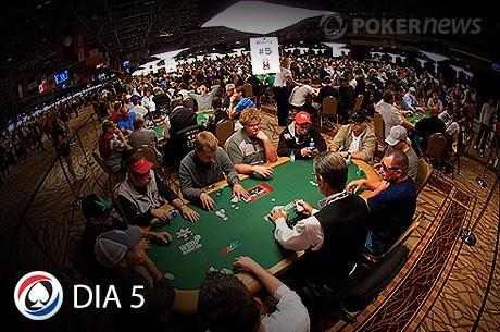 WSOP 2013: Resumo Dia 5