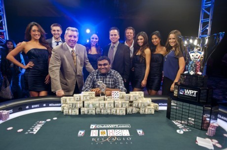 Этап WPT FSN Five Diamond: Рагаван наконец-то одержал победу