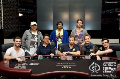 Asia Millions Main Event Day 2: Sorel Mizzi Leads Stacked Final Table