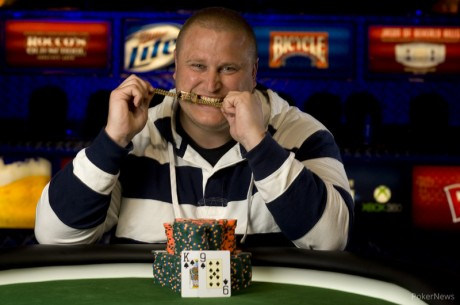 2013 World Series of Poker Day 11: Jonathan Taylor Wins Gold; Hellmuth Falls Short