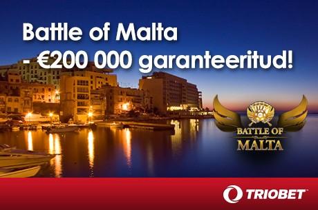Triobetis algab kvalifitseerumine Malta suurturniirile