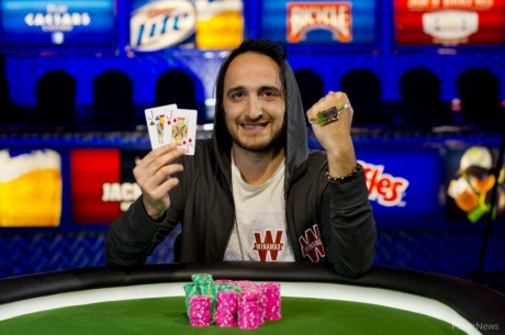 2013 World Series of Poker Day 14: Davidi Kitai and Taylor Paur Win Bracelets