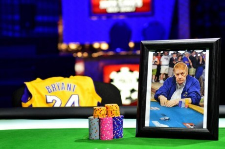 Kobe Bryant Honours Jerry Buss' Poker Passion at WSOP 2013