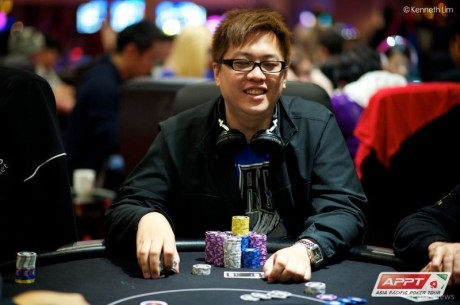2013 APPT Macau Day 1b: Tomaz Yip in Control; Jay Tan and Lacey Jones Advance