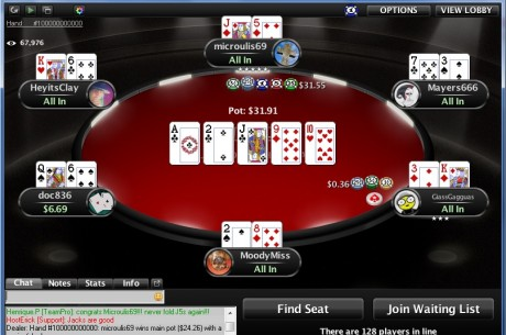 PokerStars Deals 100 Billionth Hand at Micro-Stakes Table; Winner Receives $103,000
