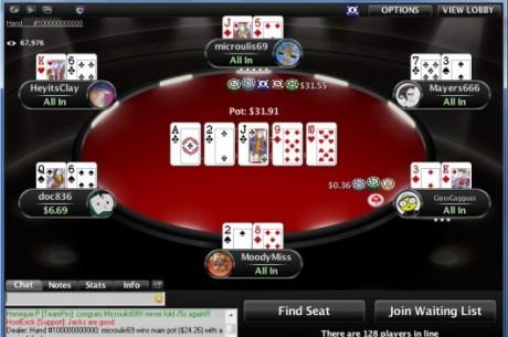 "PokerStars  - 100 milliardième main : ""microulis69"" gagne 103.800$ en NL5"