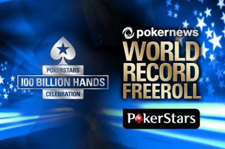 PokerNews World Record Freeroll a PokerStars-on