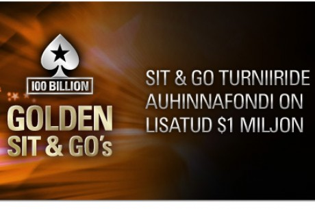 PokerStars Golden Sit & Go turniirid 17.-23. juunini