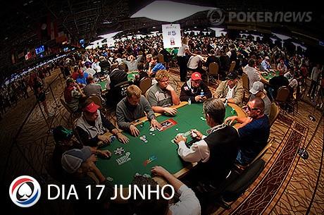 WSOP 2013: Resumo Dia 17 Junho