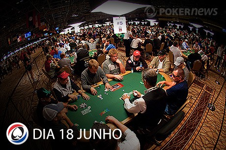 WSOP 2013: Resumo Dia 18 Junho