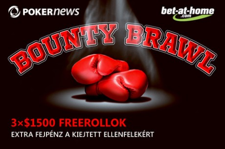 Holnap éjfélig kvalifikálhatod magad a 29-i bet-at-home.com Bounty Brawl Freerollra!