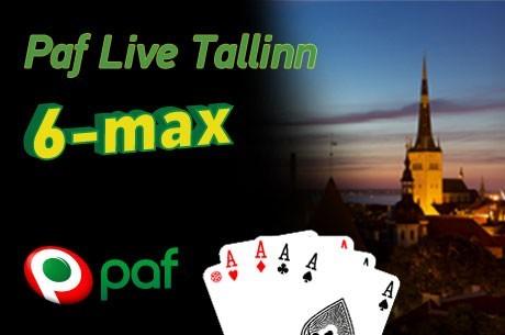 Jälgi laupäeval Paf Live 6-max Exclusive telelauda ja live-blogi
