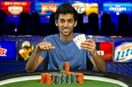 Sandeep Pulusani Wins First WSOP Bracelet in Event #44; Mercier's Run Ends With Horrific Beat