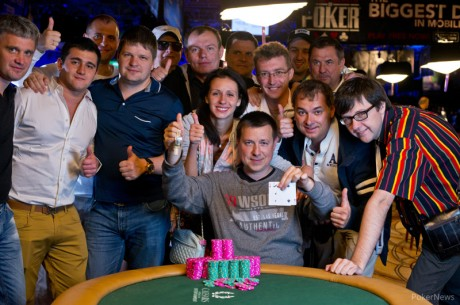 Vladimir Shchmelev and Ben Volpe Claim Gold on Day 30 of 2013 World Series of Poker