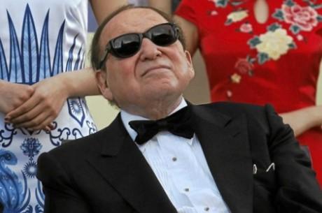 Adelson de nuevo contra el juego online, ni come ni deja comer