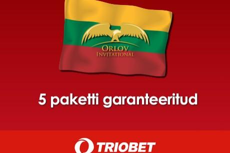 Triobetis algab kvalifitseerumine ülipopulaarsetele Leedu pokkeriturniiridele