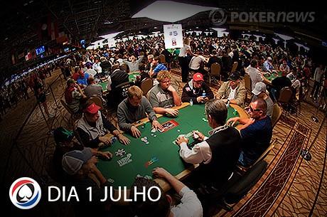 WSOP 2013: Resumo Dia 1 Julho