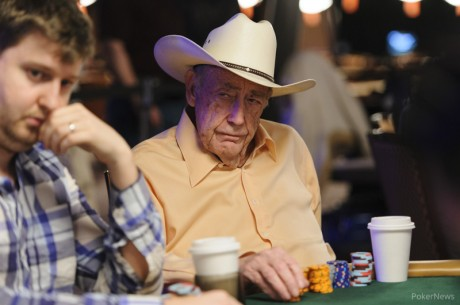 Doyle Brunson Bets on Himself in $50,000 Poker Players' Championship; Players Weigh In