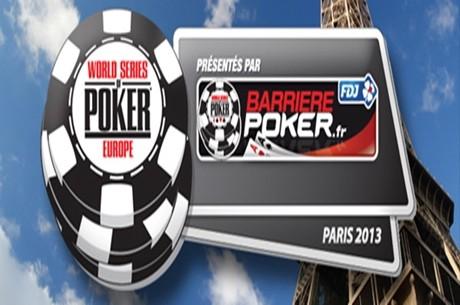 Disfruta de las Series Mundiales en Paris… ¡WSOP Europa 2013!