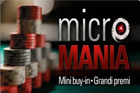Poker online: è tempo di Microfestival con PokerStars.it!