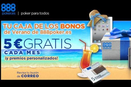 888poker.es  este verano te da una caja de bonos y  20.000 € garantizados en premios