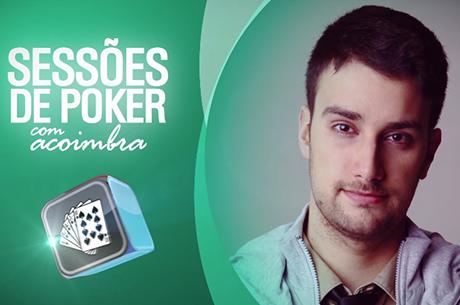 André Coimbra em Sessão ao Vivo de Sits 180man $3,5R - Parte 3/3