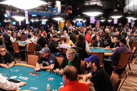 WSOP Main Event: Tafelindeling Dag 2A & 2B
