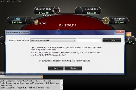 PokerStars: nuove misure di sicurezza per gli account di gioco