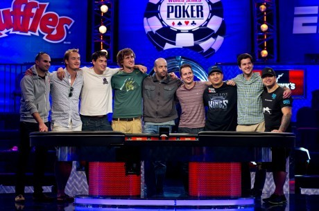 2013 WSOP Main Event Den 7: JC Tran vede November Nine; Jan Nakládal 18. za $357,655