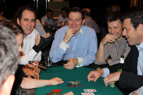 Seidel, Frankenberger and Busquet Compete  in Wall Street Poker Tournament