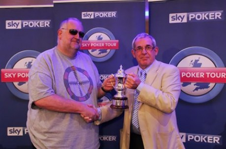 Ian Senior Wins the Sky Poker Tour Six-Max for £12,311.40