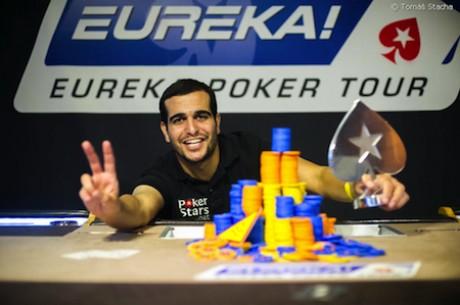 Лиран Машлуф спечели главния турнир на  Eureka Poker Tour...