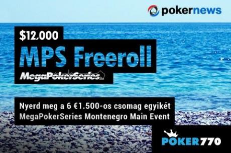 Nyerj €1.500-os csomagot és utazz a montenegrói Poker770 Mega Poker Series-re