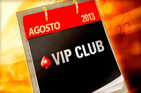 A PokerStars Tem Incentivos Especiais no Clube VIP em Agosto