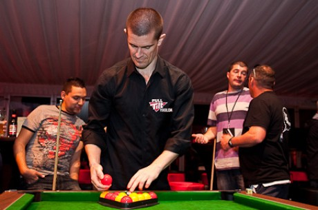 Gus Hansen Gaming It Up at the FTP UKIPT Galway Festival